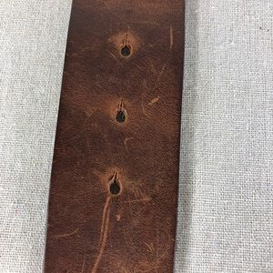 American Eagle Outfitters Accessories - American Eagle Brown Distressed Leather Belt